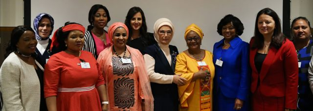 """First Lady Erdoğan: """"What we are to do for African women in need is a humane duty of ours, not a favor"""""""