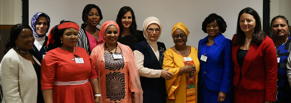 "First Lady Erdoğan: ""What we are to do for African women in need is a humane duty of ours, not a favor"""