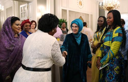 First Lady Erdoğan Inaugurates African Culture House