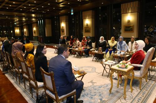 First Lady Erdoğan Receives African Lullaby Performers
