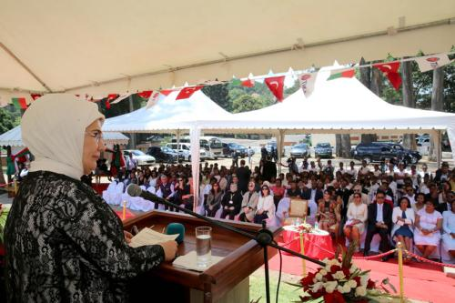 First Lady Inaugurates Women's Education Center in Madagascar
