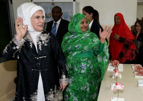 First Lady Erdoğan Meets with Women MPs in Sudan
