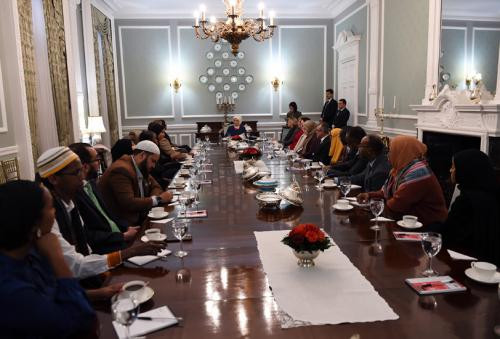 First Lady Erdoğan meets with Members of UK Parliament and representatives of Global Somali Diaspora