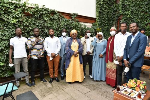 First Lady Issoufou of Niger hosted at African House