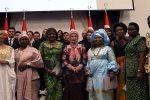 A l'occasion de la journée de l'Afrique du 25 mai, la Première Dame Emine Erdoğan et les épouses des ambassadeurs des pays africains se sont réunies lors d'un iftar (repas de rupture du jeûne) au complexe présidentiel.