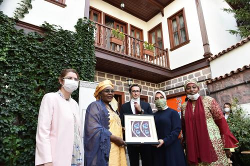 La maison de l'Afrique a accueilli la Première Dame du Niger Issoufou