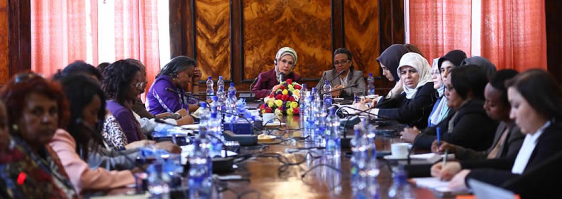 Emine Erdoğan, Afrika'da Sivil Toplum Kuruluşu Temsilcileri İle Buluştu