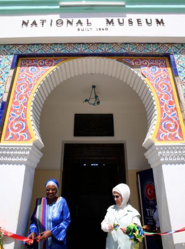 Emine Erdoğan, Tanzanya'da TİKA Ofisinin Açılışını Yaptı
