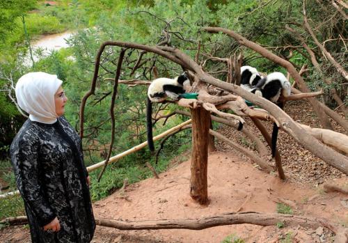 Emine Erdoğan, Madagaskar'da Kadın Eğitim Merkezi'nin Açılışını Yaptı