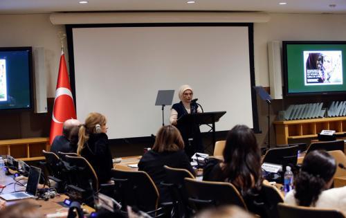 """Emine Erdoğan: """"Afrika'nın desteğe muhtaç kadınları için yapacaklarımız, bir lütuf değil, bizim insanlık vazifemizdir"""""""