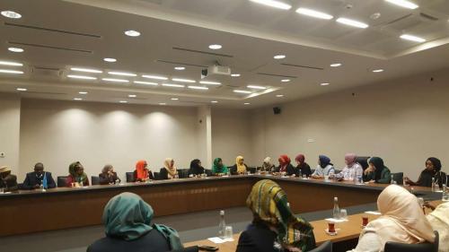 Somalili Kadın Parlamenterlerden Afrika Evi'ne Ziyaret