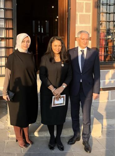 Cumhurbaşkanlığı Danışmanı Tuba Nur Sönmez, Gine Bisau Dışişleri Bakanı Sayın Suzi Barbosa Hanımefendi'yi ağırladı.