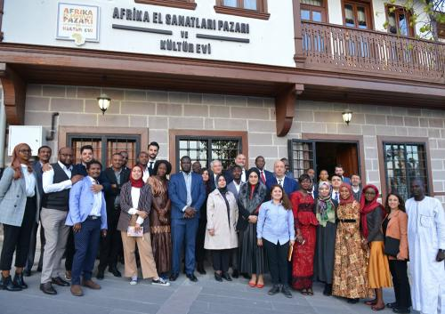 Afrika Medya Temsilcilerinden Afrika Evi'ne Ziyaret