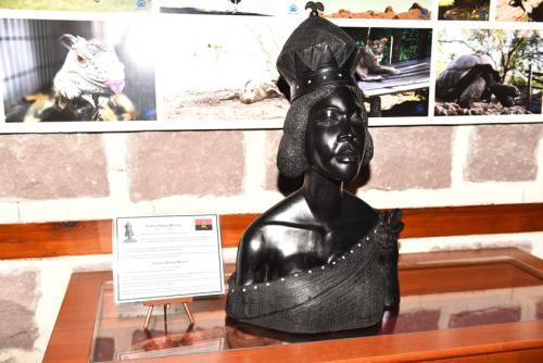 Afrika Evi, Angola Cumhurbaşkanı Joao Manuel Gonçalves Lourenço'nun değerli eşi Ana Dias Lourenço'yu ağırladı