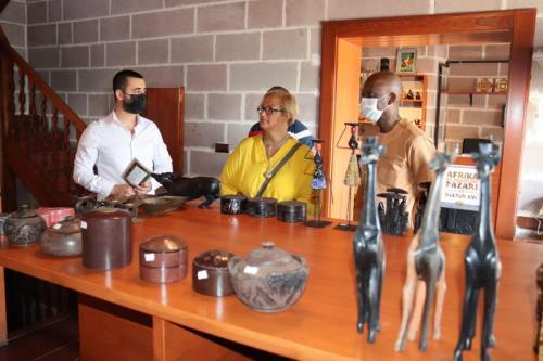 Togo Dışişleri Bakanı Afrika Evi'ni ziyaret etti
